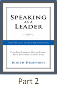 speaking as a leader part 2